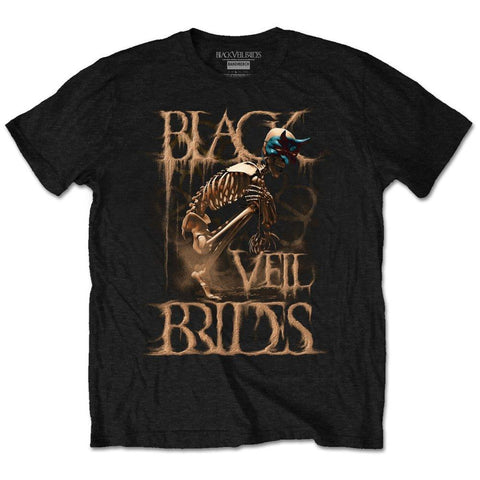 BLACK VEIL BRIDES (DUST MASK) T-SHIRT