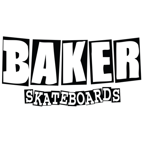 BAKER (LOGO) STICKER LRG