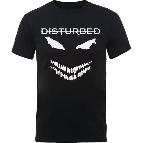 DISTURBED (SCARY FACE CANDLE) T-SHIRT