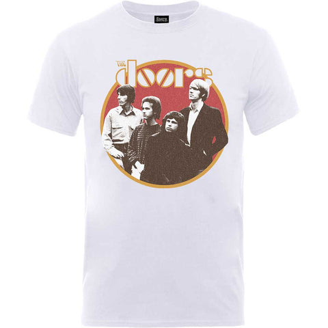 THE DOORS (RETRO CIRCLE) T-SHIRT