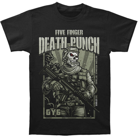 FIVE FINGER DEATH PUNCH (WAR SOLDIER) T-SHIRT