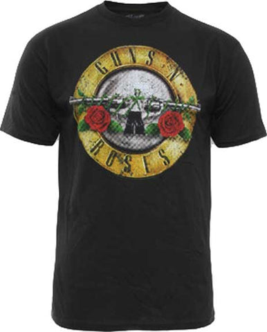 GUNS N ROSES (DISTRESSED BULLET) T-SHIRT
