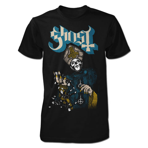 GHOST (PAPA OF THE WORLD ON FIRE) T-SHIRT