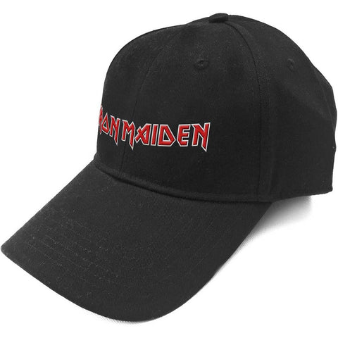 IRON MAIDEN (LOGO) BASEBALL CAP