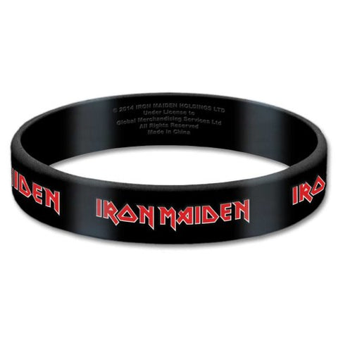 IRON MAIDEN (TAILS) GUMMY WRISTBAND