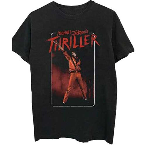 MICHAEL JACKSON (THRILLER WHITE RED SUIT) T-SHIRT