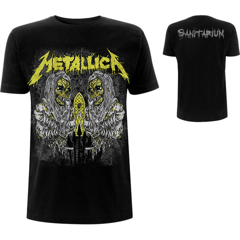 METALLICA ( SANITARIUM (BACK PRINT) T-SHIRT