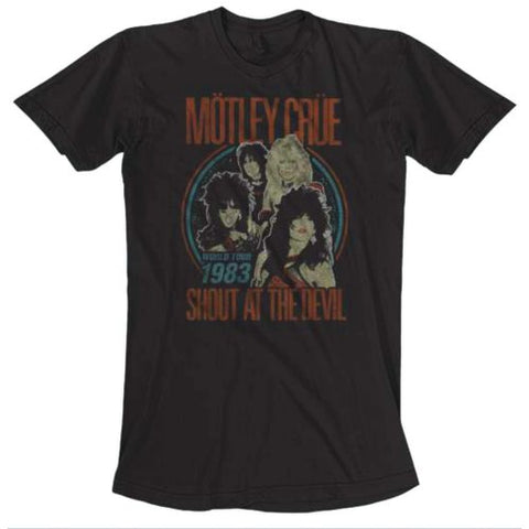 MOTLEY CRUE (VINTAGE WORLD TOUR) T-SHIRT
