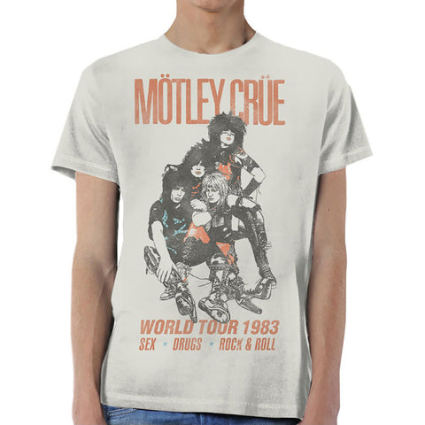 MOTLEY CRUE (WORLD TOUR VINTAGE) T-SHIRT