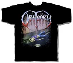OBITUARY (SLOWLY WE ROT) T-SHIRT