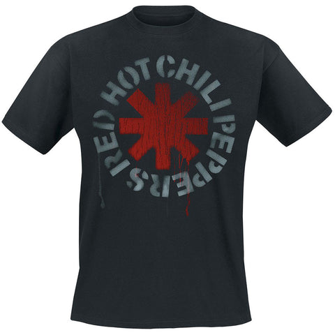 RED HOT CHILI PEPPERS (STENCIL) T-SHIRT