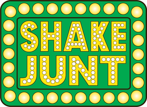 SHAKE JUNT (LARGE BOX) STICKER