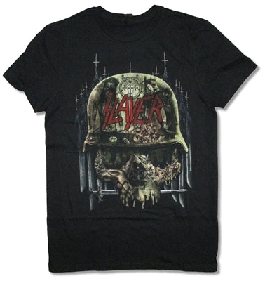 SLAYER (ALBUMS COLLAGE) T-SHIRT