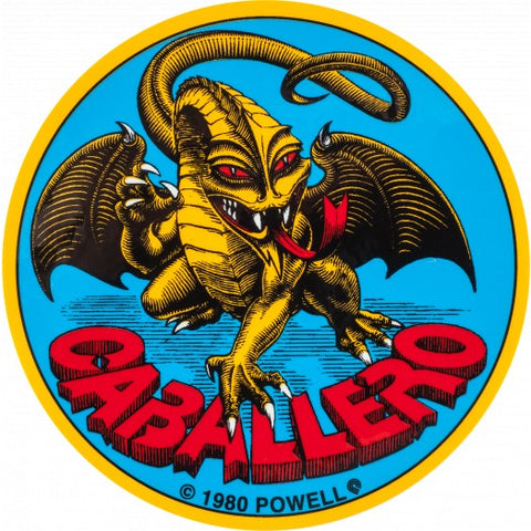 CABALLERO STICKER