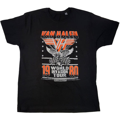 VAN HALEN ( INVASION TOUR '80) T-SHIRT