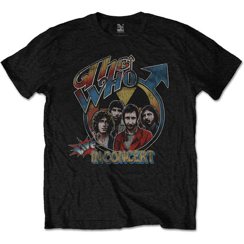 THE WHO  (LIVE IN CONCERT) T-SHIRT
