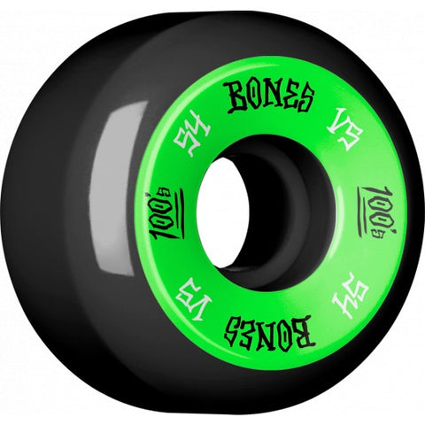 BONES 100'S V5 WHEELS (ASSORTED COLORS & SIZES)