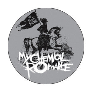 MY CHEMICAL ROMANCE (LOGO) BUTTON