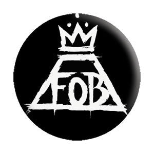 "FALL OUT BOY (CROWN) 1.25"" BUTTON"