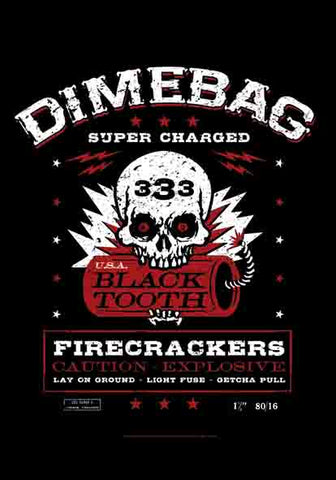 DIMEBAG DARREL (SUPERCHARGED) FABRIC POSTER