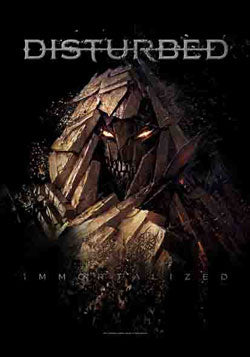 DISTURBED (SHATTERED) FABRIC POSTER