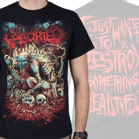 ABORTED (GODMACHINE)  T-SHIRT