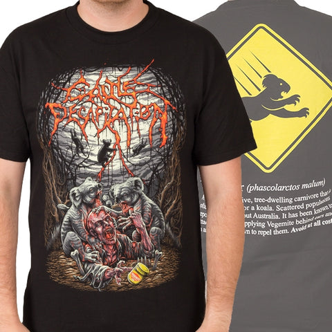 CATTLE DECAPITATION (Drop Bears) T-SHIRT