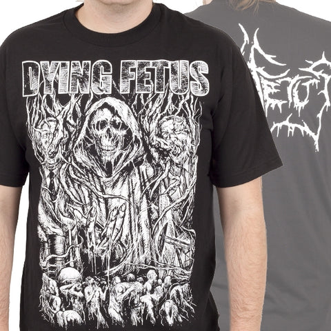 DYING FETUS (OLD SCHOOL) T-SHIRT