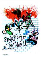 PINK FLOYD (THE WALL) FABRIC POSTER