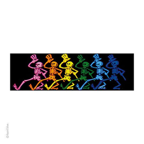 GRATEFUL DEAD (RAINBOW DANCERS) STICKER