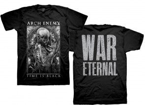 ARCH ENEMY (TIME IS BLACK) T-SHIRT