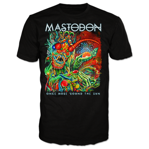 MASTODON (ONCE MORE 'ROUND THE SUN) T-SHIRT