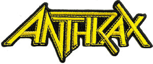 ANTHRAX (LOGO) PATCH