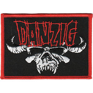 DANZIG (SKULL WITH LOGO) PATCH