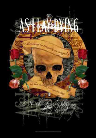 AS I LAY DYING (SKULL) FABRIC POSTER