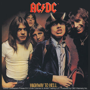 AC/DC (HIGHWAY TO HELL) STICKER