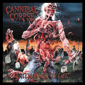CANNIBAL CORPSE  EATEN STICKER