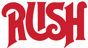 RUSH RUB-ON STICKER