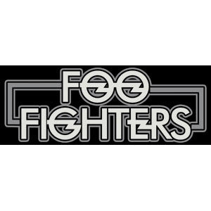 THE FOO FIGHTERS (NEW LOGO) STICKER