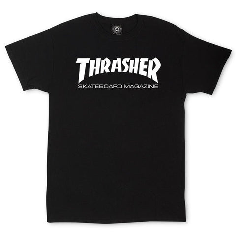 THRASHER (SKATE MAG) T-SHIRT BLACK
