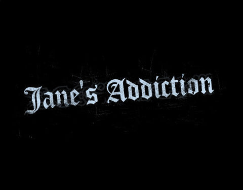 JANE'S ADDICTION (LOGO) T-SHIRT