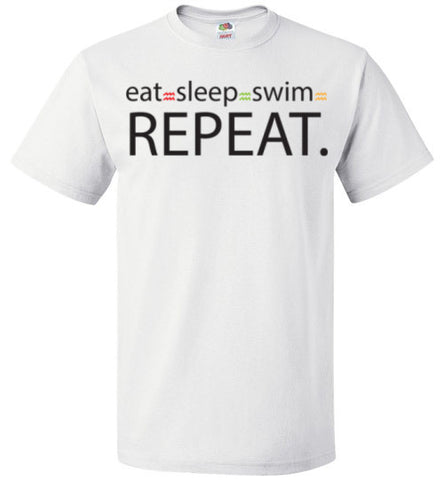 Eat-Sleep-Swim-Unisex