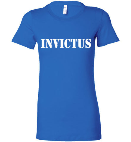 Invictus Blue Female Tee
