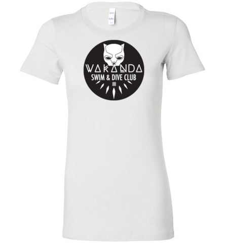 Wakanda Swim & Dive Club Female Tee (multiple colors)