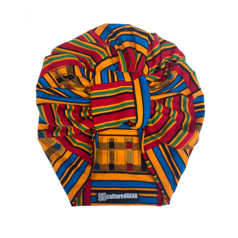 Akoben Nubian Terry(TM) Turban Wrap - Stripe Series