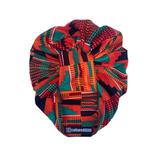 Akoben Nubian Terry(TM) Turban Wrap - Kente Series