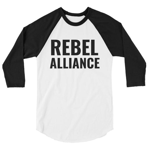 REBEL ALLIANCE 3/4 sleeve raglan shirt