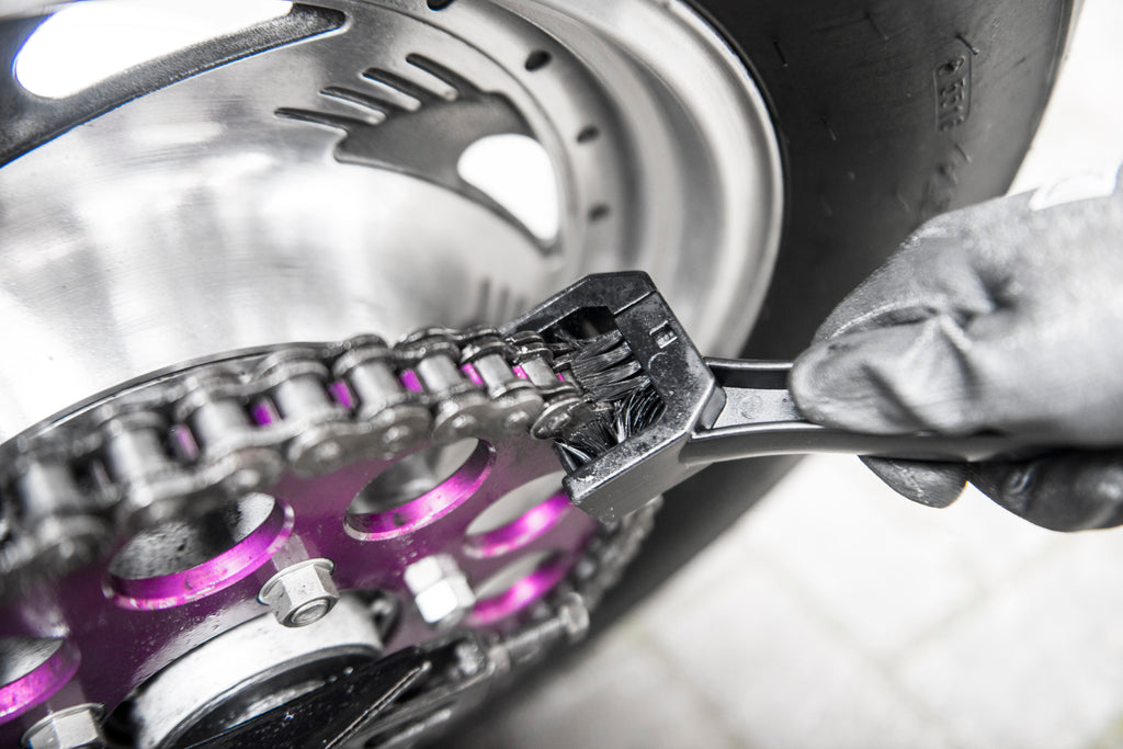 How To Clean, Protect & Lube Your Motorcycle Chain