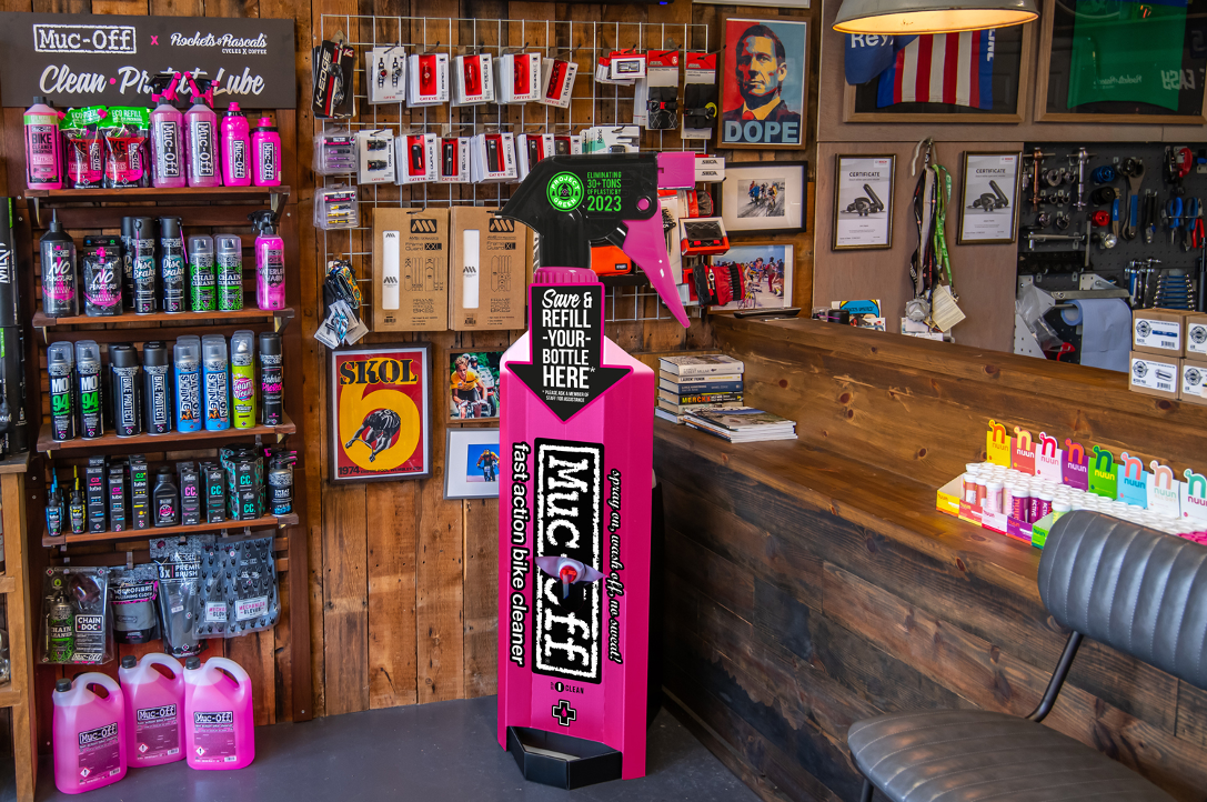 Muc-Off rolls out Bike Wash In-Store Refill program in USA