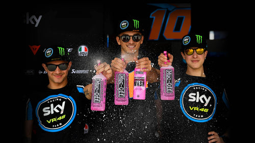 Muc-Off Signs VR46 - Background Image